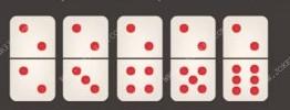 kartu ceme dengan dua titik diatasnya