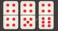 kartu ceme dengan empat titik diatasnya