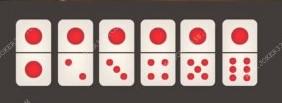 kartu ceme dengan satu titik diatasnya